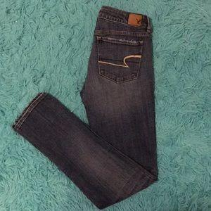 American Eagle Long Skinny Stretch Jeans